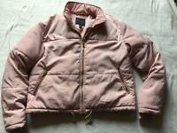 New look ladies puffy waist jacket pink size 12 used ex condition £6