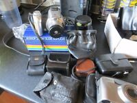 Joblot of Vintage Camera accessories