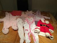0-3 mths baby girl bundle