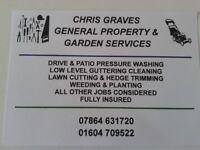 Chris Graves Garden Services.