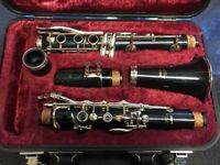 Yamaha student clarinet, excellent condition, plays well
