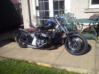 Honda CB750 lowrider/bobber for sale p/x