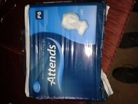 Attends adult incontinent pads 4×40