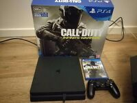 PS4 Slim + Infinite Warfare, Extra Controller, Brand New Headset and more