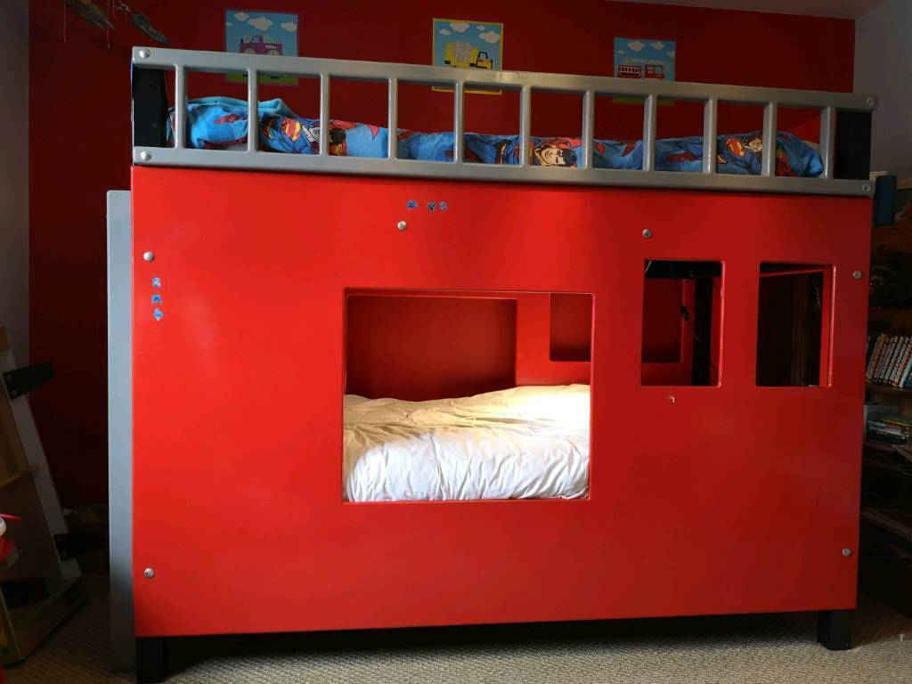 Handmade Fire Engine Bunk Bed In Moira County Armagh Gumtree