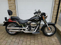 HARLEY DAVIDSON FAT BOY FLSTF FULLY LOADED & BEAUTIFUL EXAMPLE, Condition is superb