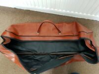 Long Leather Holdall