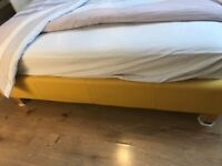 Double mattress and bed