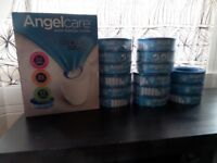 Angelcare Nappy Disposal System Brand New sealed ! with 15 Packs of 180 refills
