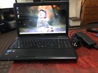 "Fast intel i3 Toshiba C600 intel HD graphics webcam office 10 wide 15.6"" amazing deal"