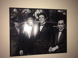 Framed Godfather, Pacino, De Niro & Sopranos Posters