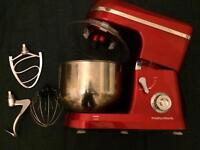 Like new. Morphy Richards Electric Mixer - Red. £100 @ Argos
