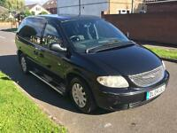 CHRYSLER VOYAGER TOURING - 2.5 CRD - 5 SPEED MANUAL - 1 YEAR MOT