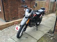 Low millage Keeway tx 125cc