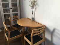 Habitat dining table & chairs