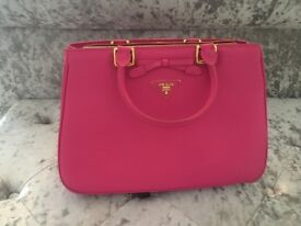 Pink Prada Handbag For Sale