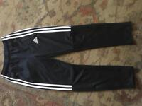 Adidas climate tracksuit bottoms size 9 to 10years