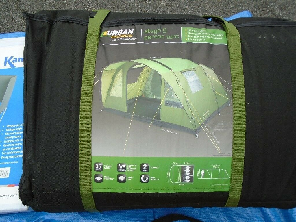 Atago 5 man tent + everything to get you going ( wild ...