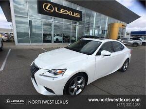 2014 Lexus IS 350 LUXURY PACKAGE