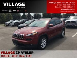 2017 Jeep Cherokee North|Heated Seats|Remote|8.4|Bluetooth|Backu