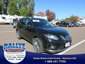 2014 Nissan Rogue SL! AWD! Back-Up! Alloy! Nav! Sunroof! Leather