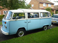 Right Hand Drive 1979 2.0ltr T2 Late Bay Window Campervan