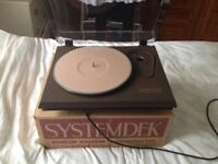 dunlop Systemdek transcription turntable and separate avondale power supply