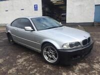 [Simmons BMW] BMW 3 Series E46 325Ci BREAKING for Parts Spares Titan Silver