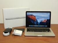 2014-15 MACBOOK PRO 13 INCH 3.1GHZ i5, 8gb ram, FLASH SSD, OFFICE 2016, ADOBE CS6