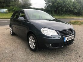 VOLKSWAGEN POLO MATCH 80 1.4 AUTO 5DR GREY 2008
