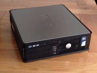 Dell desktop PC, Windows 7, 4GB, all good, ready