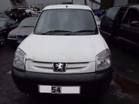 BREAKING --- Peugeot Partener 600 LX D 1.9L Diesel 68BHP -----2004
