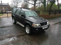 2004 MITSUBISHI SHOGUN SPORT WARRIOR 2.5 DIESEL 4X4 FULL SERVICE HISTORY 1 PREVIOUS OWNER BARGAIN