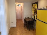 2 Double rooms in a clean, quiet flat with garden, close to all transports, all bills included