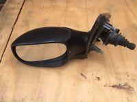 Used - Peugeot 206 Black Passengers side wing mirror