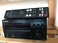 Denon audio plus wharfedale speakers