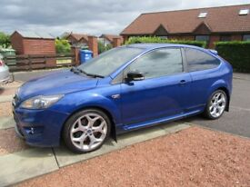 Ford Focus ST-3, 2008, 51,000 miles, Performance Blue