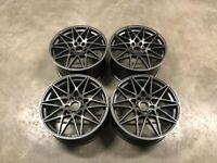 19 20 Inch BMW 666 Style Alloy Wheels E90 E92 E93 F10 F11 F30 F31 F32 F36 F20 1 3 4 5 series 5x120