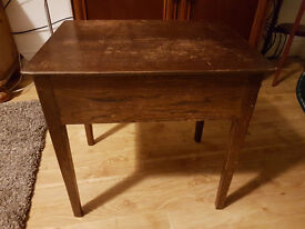 side table solid hard wood
