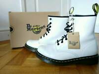 White Dr Martens Air Wair (size 7)