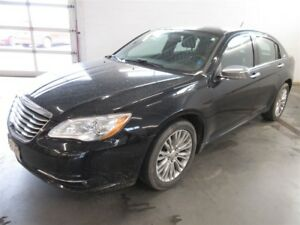2012 Chrysler 200 Limited- ALLOYS! HEATED SEATS! LEATHER!