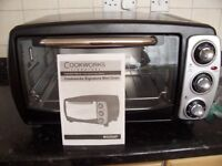 COOKSWORKS MINI-OVEN... Never used