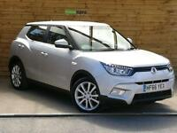 SsangYong Tivoli 1.6 EX 5dr VERY LOW MILEAGE AS NEW (silent silver metallic) 2016