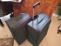 2 Large Revelation Suitcases