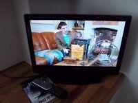 "Sanyo 19"" LED TV DVD Combi"