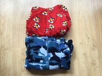 Two Onesies Angry Birds Age 9-10 And The Blue Onesie Age 8-9 **