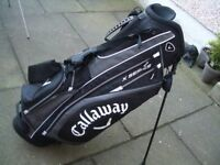Callaway X-Series Stand Bag had little use.