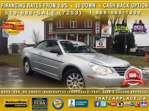 2008 Chrysler Sebring LX-$57/Wk-Convertible Soft Top-AUX/CD/MP3-