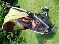 Quinny zapp stroller in good condition
