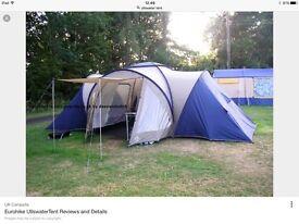 Eurohike Ullswater Tent - sleeps 6